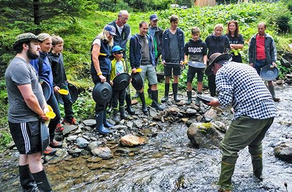 Goldrausch in den steirischen Bergen mit Übernachtung