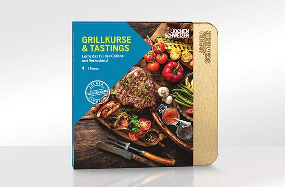 Erlebnis-Box 'Grillkurse und Tastings'
