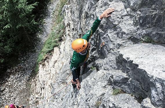 Kletterkurs Adelboden (1 Nacht)