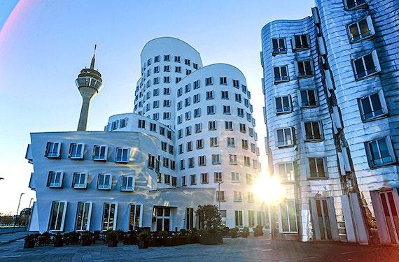 Medien Hafen-Führung Düsseldorf