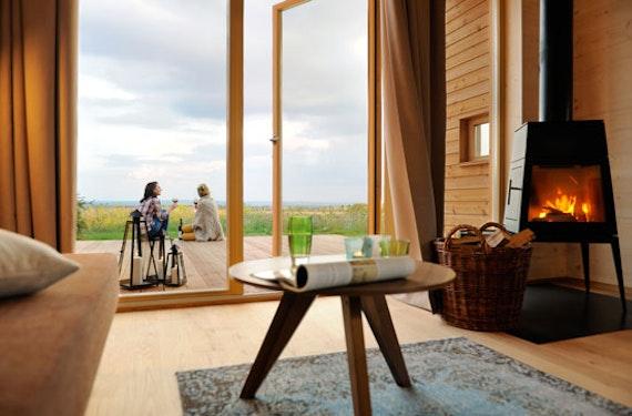 Kurzurlaub im Holz-Chalet im Hainich für 2