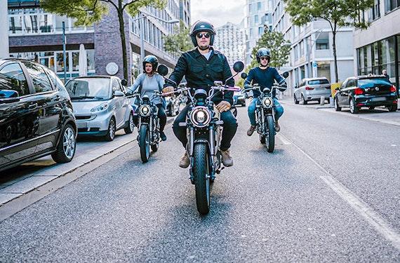 E-Moped Tour in Hamburg