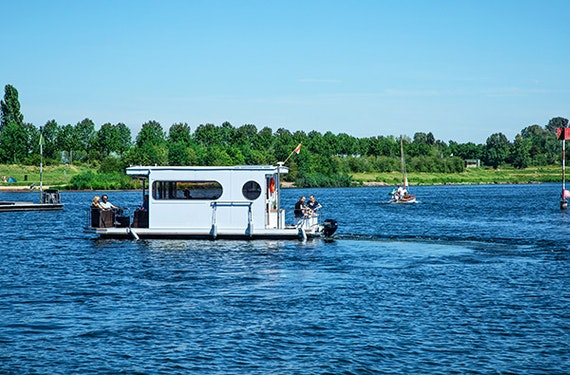 Hausboot mieten auf der Maas (4 Nächte)
