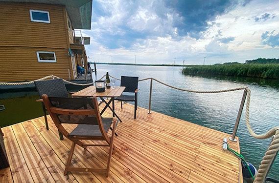 Hausboot mieten Kröslin für 2 (2 Nächte)