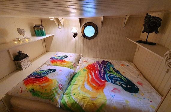 Hausboot Übernachtung Languimberg für 2 (4 Tage)