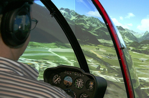 Helikopter Simulator Robinson R22