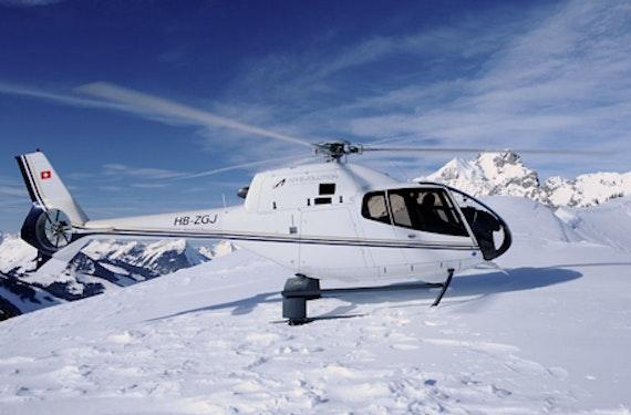 Helicopter-Rundflug ums Matterhorn