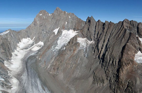Helikopterflug mit Gletscherlandung Raum Vaduz