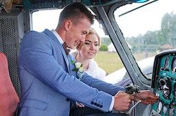 Hochzeitsrundflug
