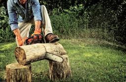Holzfäller für einen Tag