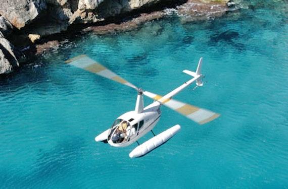 Helikopterflug über Mallorca für 4