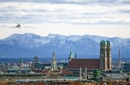 Hubschrauber-Rundflug über München