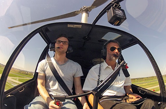 Hubschrauber-Rundflug Österreich (20 Min.)