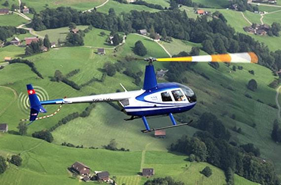 Helikopter Rundflug Schweiz (30 Min.)