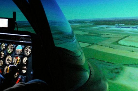 Hubschrauber-Simulator in Wien