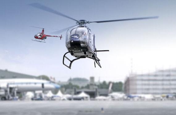 Hubschrauber Rundflug (15 Min.)