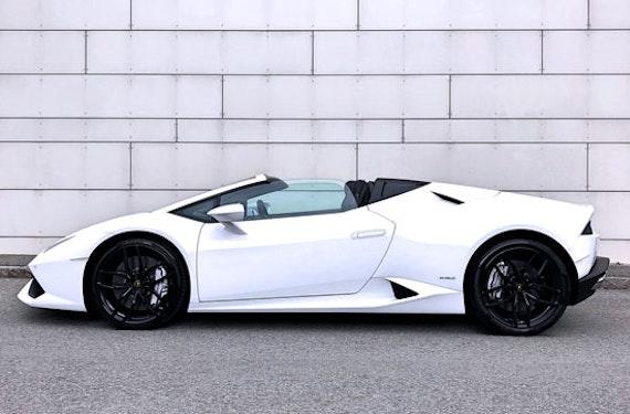 Lamborghini Huracán Spyder fahren Raum St. Gallen (3 Std.)