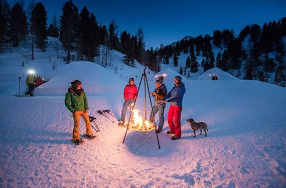 Romantische Nacht im Iglu in Südtirol für 2