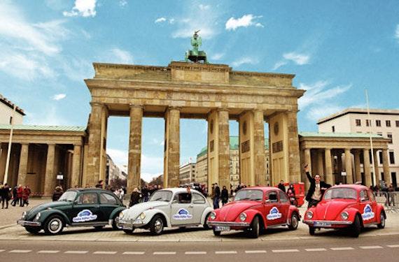 VW Käfer fahren in Berlin für bis zu 4 Personen