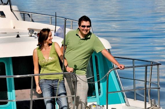 Kajütboot-Kurzurlaub für 2