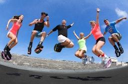 Kangoo Jumps Fitness Programm für 2