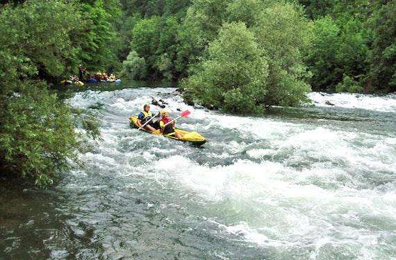 Kanu-Tour in Kroatien
