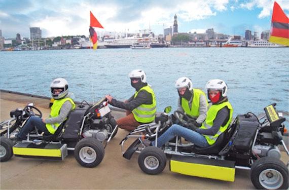 City- & Überland-Kart-Tour Hamburg