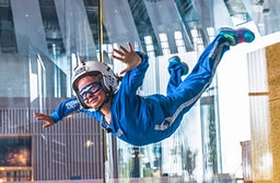 Bodyflying für Kinder (4 Min.) - Arena München
