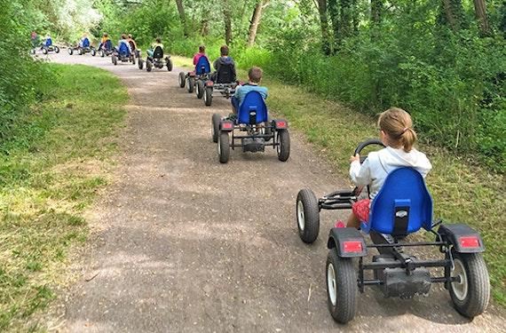 Pedalkart-Safari in Karlsruhe für bis zu 10 Kinder
