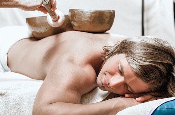 Klangschalen Massage (60 Minuten)