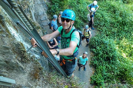 Klettersteig Kurs für Anfänger Boppard (3 Std.)