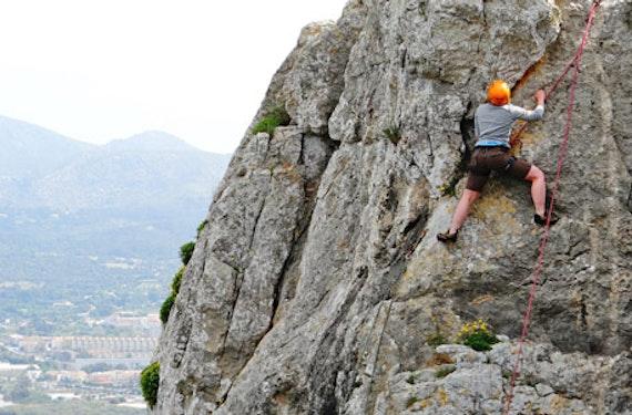 Klettertour auf Mallorca