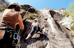 Kletterkurs am Felsen des Schollbergs für 2