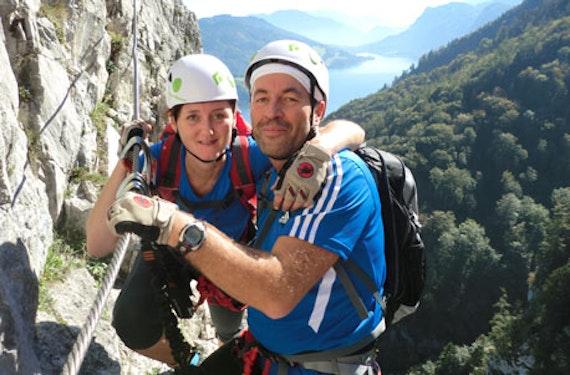 Klettersteig-Tour mit Seilbahnfahrt in Bad Ischl