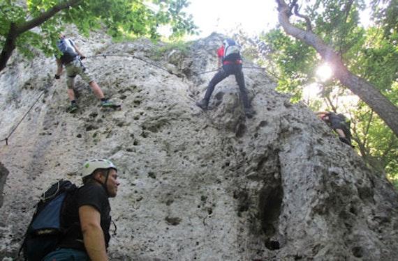 Klettersteig & Höhlenexpedition
