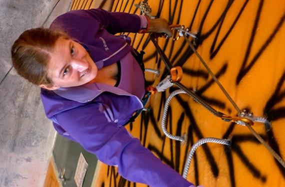 Indoor-Klettersteig für Einsteiger Wien