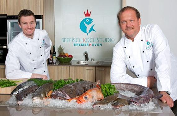 Koch-Show mit Fisch-Buffet in Bremerhaven für 2