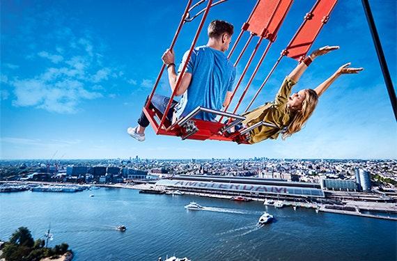Kurztrip Amsterdam mit Lookout & Skyline-Schaukel für 2 (2 Tage)
