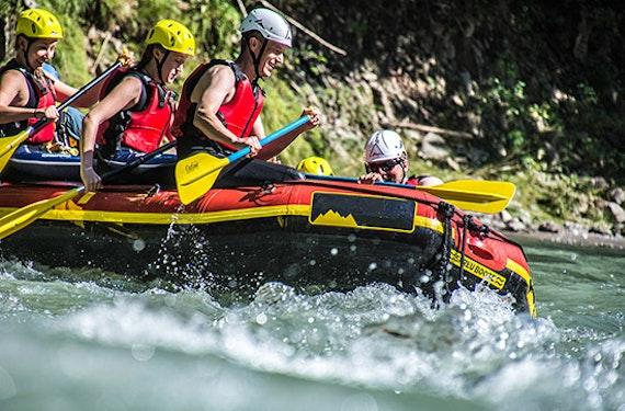 Kurzurlaub im Chiemgau mit Rafting für 2