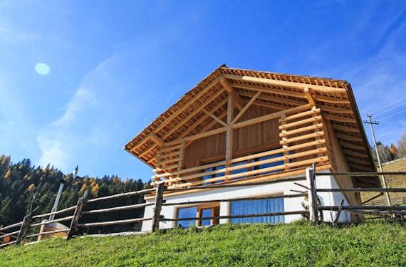 Familien-Urlaub im Natur-Chalet in Südtirol für 4