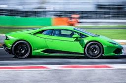 Lamborghini Huracan auf dem Red Bull Ring fahren