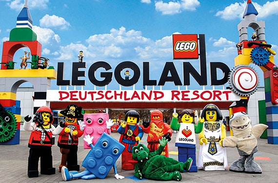 Kurztrip Legoland Günzburg für 3 (2 Tage)