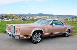 Lincoln Continental Mark V fahren bei Koblenz (1 Tag)