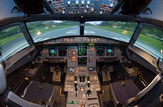 Boeing 737 Lufthansa Flugsimulator