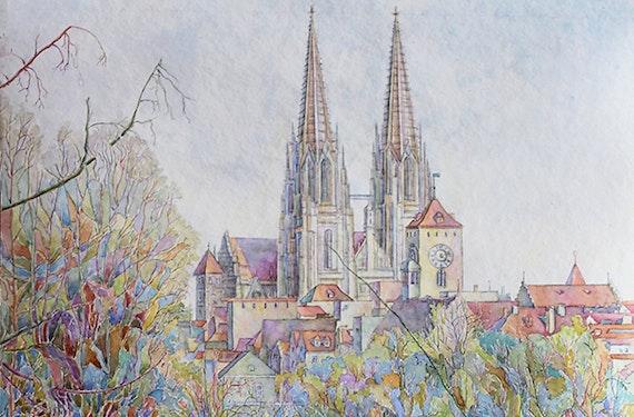 Aquarell-Malkurs in Regensburg