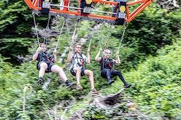 Mega Dive Riesenschaukel in Kärnten