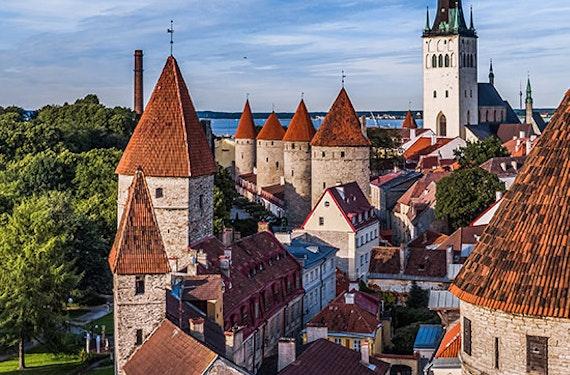 Minikreuzfahrt Deluxe Stockholm Tallinn für 2