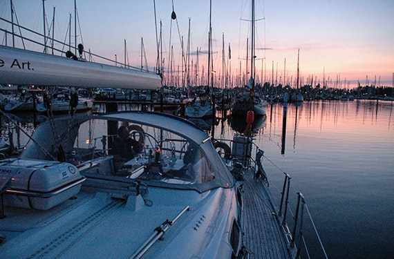 Mondscheinsegeln Rostock-Warnemünde zur Hanse Sail