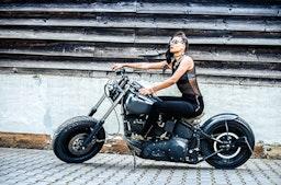 Motorrad-Fotoshooting