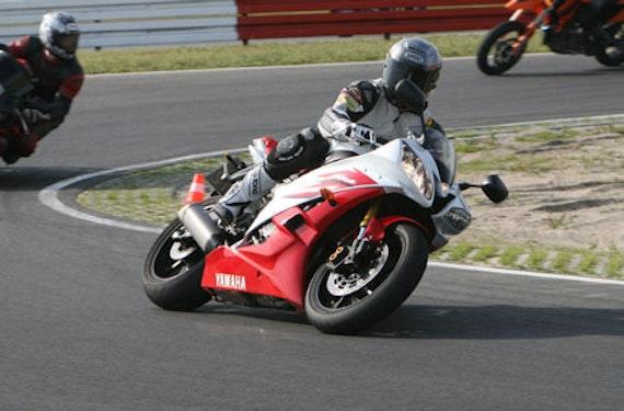 Motorrad Rennstreckentraining auf dem Spreewaldring